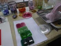 吹きガラス - 食いしん坊イノキチとカイトの日記