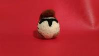スズメ リーゼント - 羊毛フェルト男(羊毛フェルトマン)