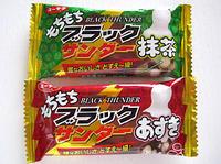 新しい食感「もちもちブラックサンダーあずき&抹茶」雅なおいしさ どすえ〜級! - kazuのいろんなモノ、こと。