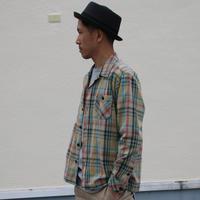 春らしいカラーのチェックジャケット。 - AUD-BLOG:メンズファッションブランド【Audience】を展開するアパレルメーカーのブログ