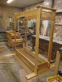 うんていAタイプW1700×H1800×D1140 ブランコ式ぶら下がり練習棒20mm - MAGINU STYLE by Art Furniture Gallery