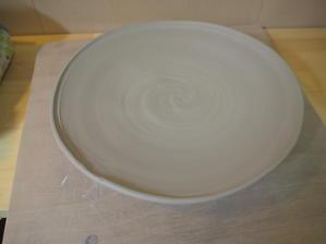 6寸皿 - 陶芸ルルル