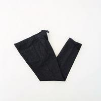 < FUJITO > 1 Tuck Easy Pants - clothing & furniture 『Humming room』