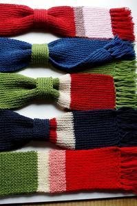 ■続・手編みに夢中!!【①今お歳暮用をコツコツ編んでます><! 】 - 「料理と趣味の部屋」