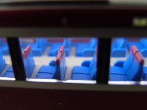 マイクロ製京急2100形再電飾その1 室内床面色試作 - 新湘南電鐵 横濱工廠2
