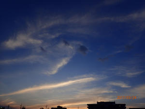 夕陽の美しさを - のんびりボチボチ日記?