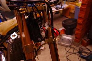【tm125EN】ハンドルスイッチ配線整理 - だいちゃんガレージ