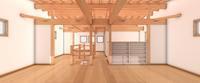 3D work01/木の葉 - Den設計室 一級建築士事務所