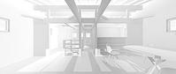 3D work02/木の葉 - Den設計室 一級建築士事務所
