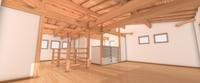 3D work03/木の葉 - Den設計室 一級建築士事務所