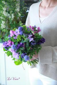 3月のレッスン終了しました♪ - Le vase*  diary 横浜元町の花教室