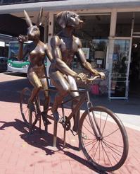 サイクリングに最適な街、パース(ポップコーンアイス) - 南米・中東・ちょこっとヨーロッパのアイスクリーム旅