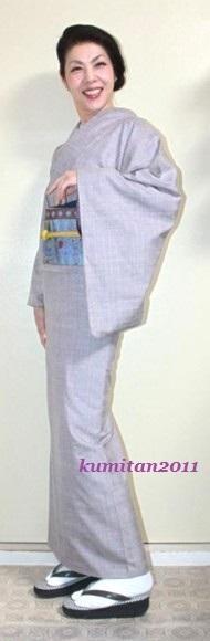 今日の着物コーディネート♪(2017.3.24)~紬着物&紬染め帯編~ - 着物、ときどきチロ美&チャ美。。。お誂えもリサイクルも♪