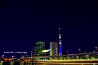吾妻橋HDR - 風景とマラソンと読書について語るときに僕の撮ること