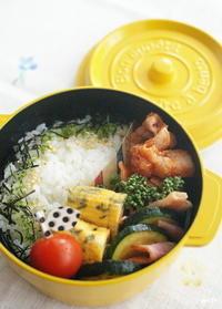 今日の豚肉ケチャップ炒め弁当とお弁当作りのコツ - sweet+