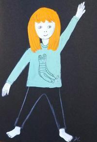 万歩計 - たなかきょおこ-旅する絵描きの絵日記/Kyoko Tanaka Illustrated Diary