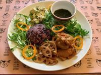 鶏手羽元と蓮根の甘酢煮ワンプレート - カフェ気分なパン教室  ローズのマリ