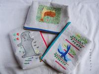 刺繍ポーチ大各種 - マルチナチャッコ
