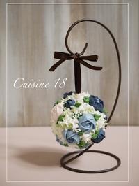お花絞りレッスン 〜バラ〜 - cuisine18 晴れのち晴れ