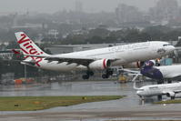 2017シドニー遠征 その17 シドニー1日目 ヴァージン・オーストラリア A330-200 - 南の島の飛行機日記