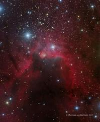 ケフェウス座の美しい散光星雲シャープレス2-155 - 秘密の世界        [The Secret World]