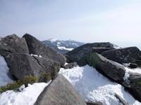 縞枯山 (2,403M) 下山する - 風の便り