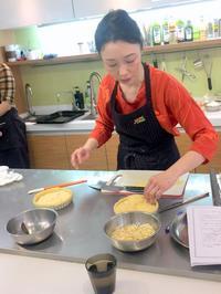 台湾料理教室その1「洋梨タルト&フィナンシェ」 - mahoのテーブルから