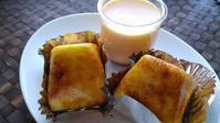 自由が丘、奥沢「粉と卵」のスイートポテト - 料理研究家ブログ行長万里  日本全国 美味しい話