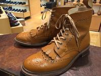 エイジングが楽しい靴 - 日本橋三越2F 靴修理・靴お手入れ工房スタッフの日常(シューリペア工房)