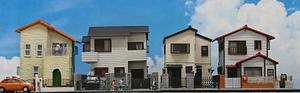 住宅が並ぶジオラマを作る(11)~完成 - 【趣味なんだってば】 鉄道模型とジオラマの製作日記