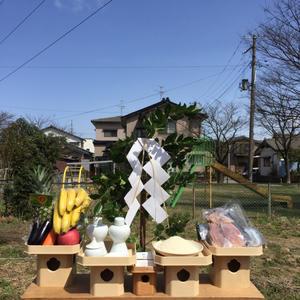 新潟の家2の地鎮祭。 - 暮らしの工房 blog