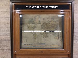 サマータイム開始!で90年前の「世界時計」をご紹介♪ - ロンパラ!(LONDON パラダイス)