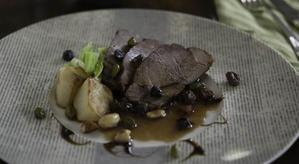 豚肉とドライフルーツのワイン煮 - 食卓の風・・・