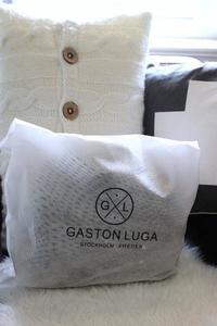 北欧生まれの、実用性&ファッション性を兼ねた、バックパック(Gaston Luga) - バンクーバー日々是々