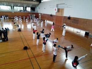 前日練習 - 大阪学芸高校 空手道応援ブログ
