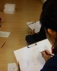 ★鉛筆デッサンの会@四ツ谷★ - 造形+自然の教室  にじいろたまご