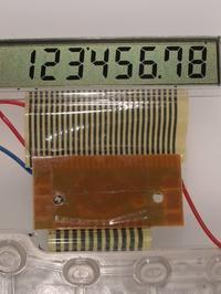 液晶パネルへの結線数 - ミクロ・マクロ・時々風景