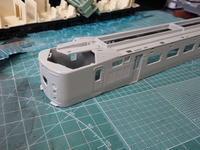 Tomix クハネ581の加工その2・塗装剥離 - Sirokamo-Industry