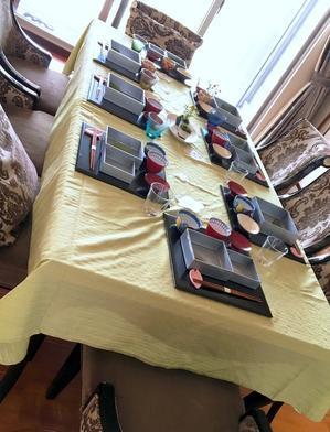 台湾料理教室その3「春の和懐石レッスン」 - mahoのテーブルから