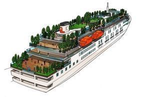 両備クルーズ船の内外装発表 - 船が好きなんです.com