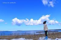 春休み、でもまだ寒い - 礼文島★ハナとわたし