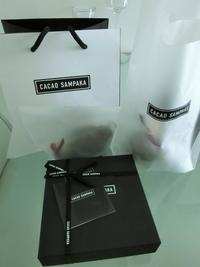 日本から届いたものVol.4  ♡ CACAO SAMPAKA カカオ サンパカ - Orchid◇girL in Singapore Ⅱ