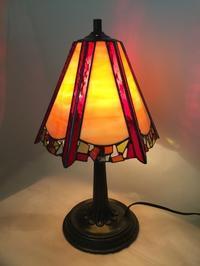 ランプ〜裾にモザイク - Glass in