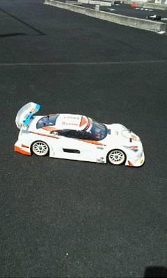 レース前練習 - RCの製作と走行
