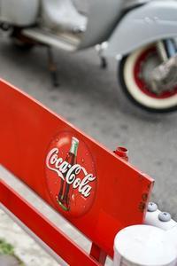 Coca-Colaのベンチ - ホンテ島 日記