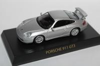 1/64 Kyosho PORSCHE 911 GT3 2003 - 1/87 SCHUCO & 1/64 KYOSHO ミニカーコレクション byまさーる