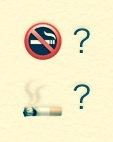 """""""Smoke free"""" ってどっち? - らすこり日記"""