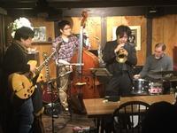 岡トリオ+長瀬良司(tp) - 蔵カフェ「飯島茶寮」