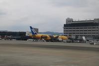 藤田八束の飛行機の写真@スターウォーズ伊丹空港でご対面・・・美しい機体にびっくり - 藤田八束の日記