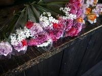 大学陸上部の卒業される先輩たちへ。花束19個。2017/03/20。 - 札幌 花屋 meLL flowers